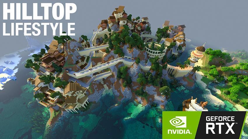 Minecraft RTX Nuevos mundos