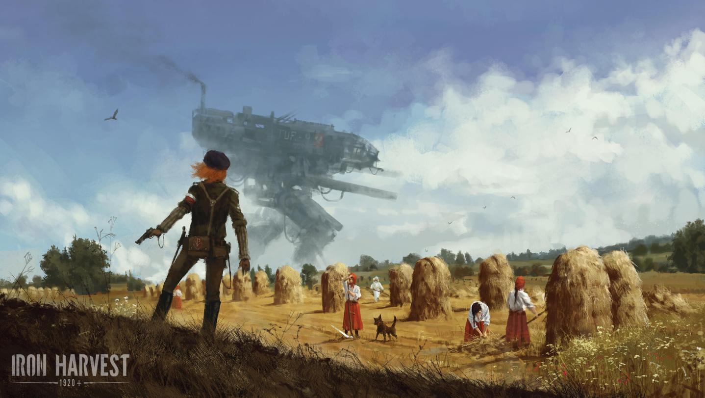 Iron Harvest Art