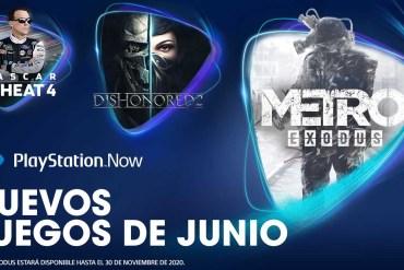 PlayStation Now en junio 2020