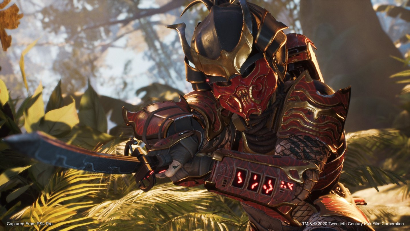 Predator Hunting Grounds Depredador samurái 1
