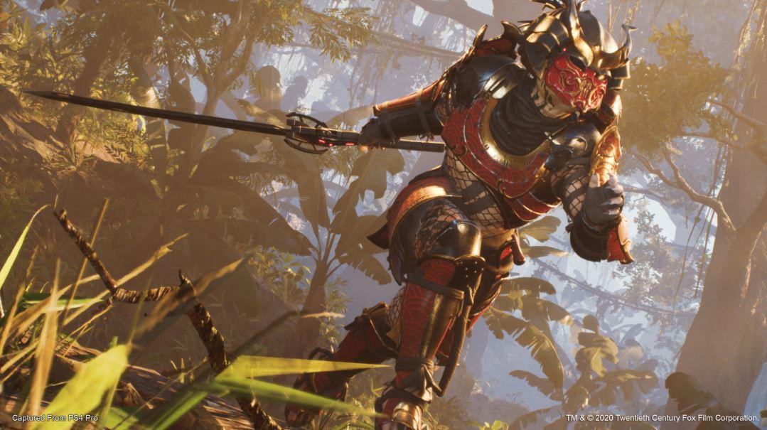 Predator Hunting Grounds Depredador samurái 2