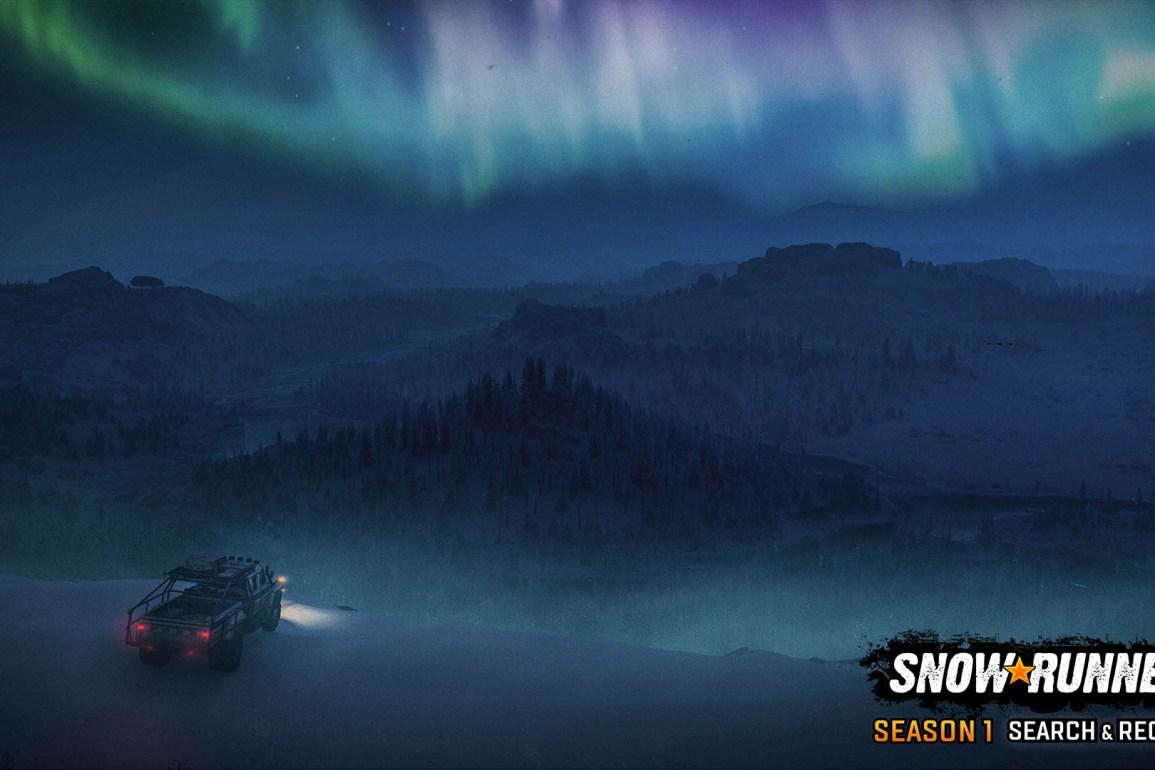 Temporada 1 llega a SnowRunner