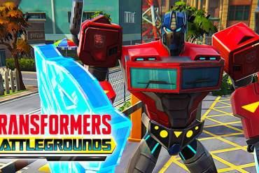 Transformers Battlegrounds art