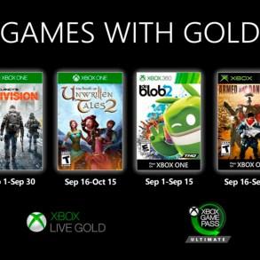 Xbox Gold septiembre 2020