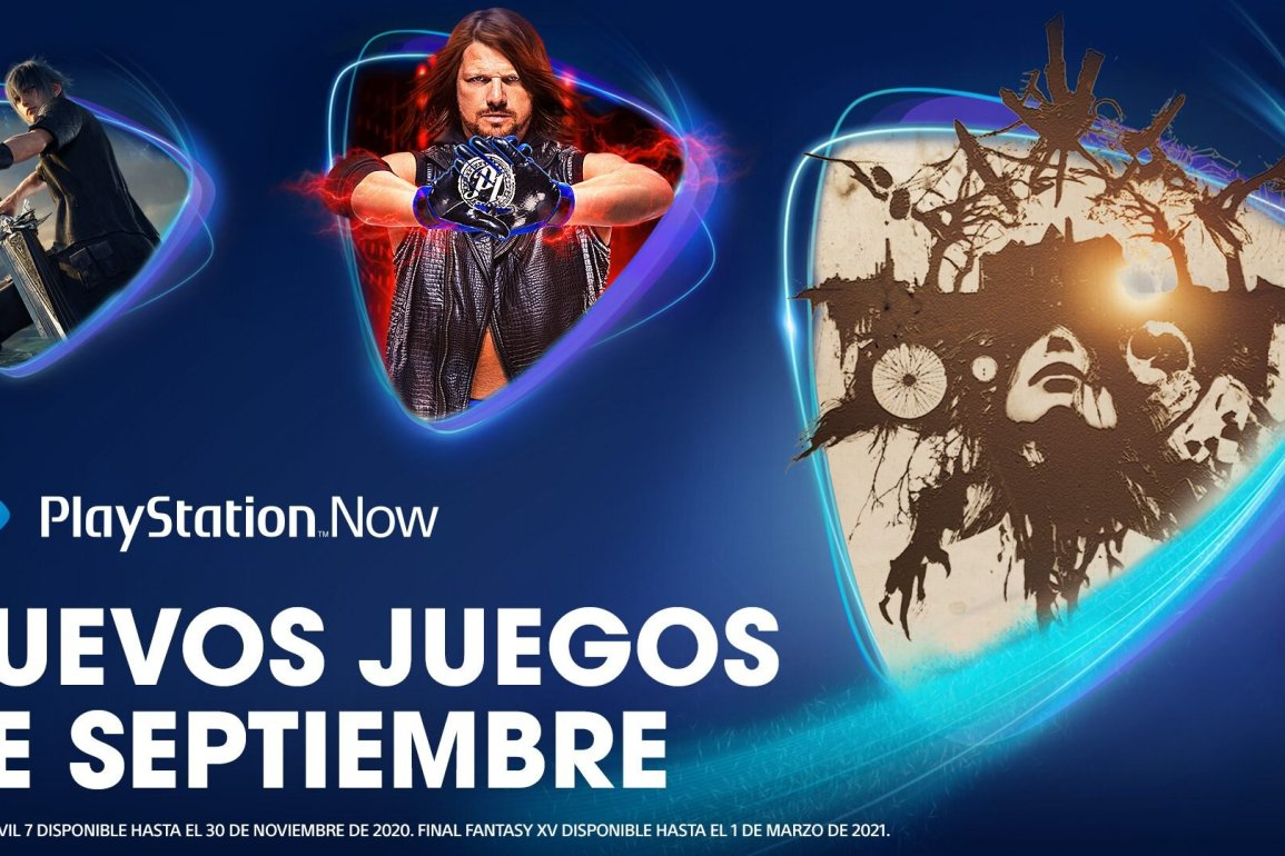 PlayStation Now septiembre 2020