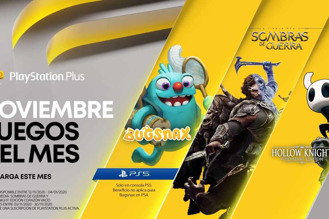 PlayStation Plus de noviembre 2020