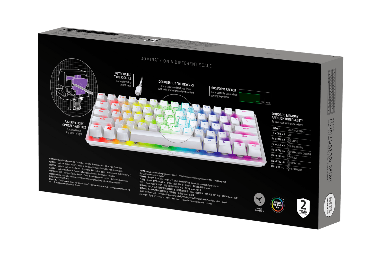 Razer Huntsman Mini Mercury Analisis Caja 2