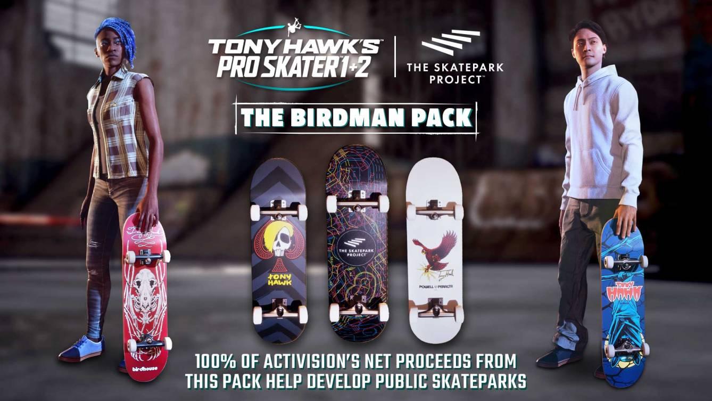 Tony Hawks Pro Skater 1 2 The Birdman Pack