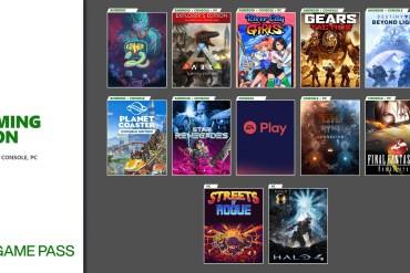 Xbox Game Pass de noviembre 2020