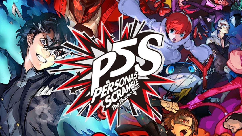 Persona 5 Strikers Art