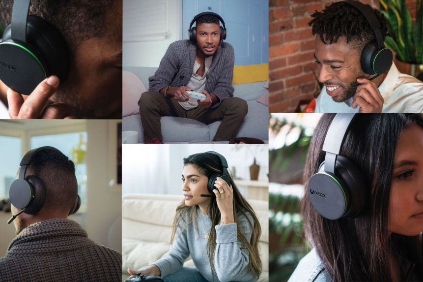 Xbox Wireless Headset Anuncio