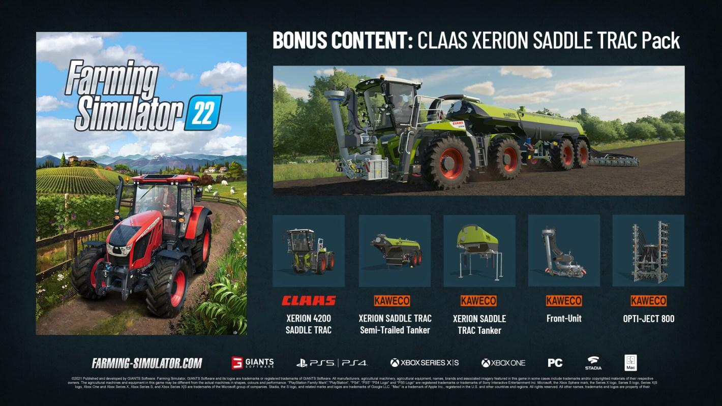 lanzamiento de Farming Simulator 22