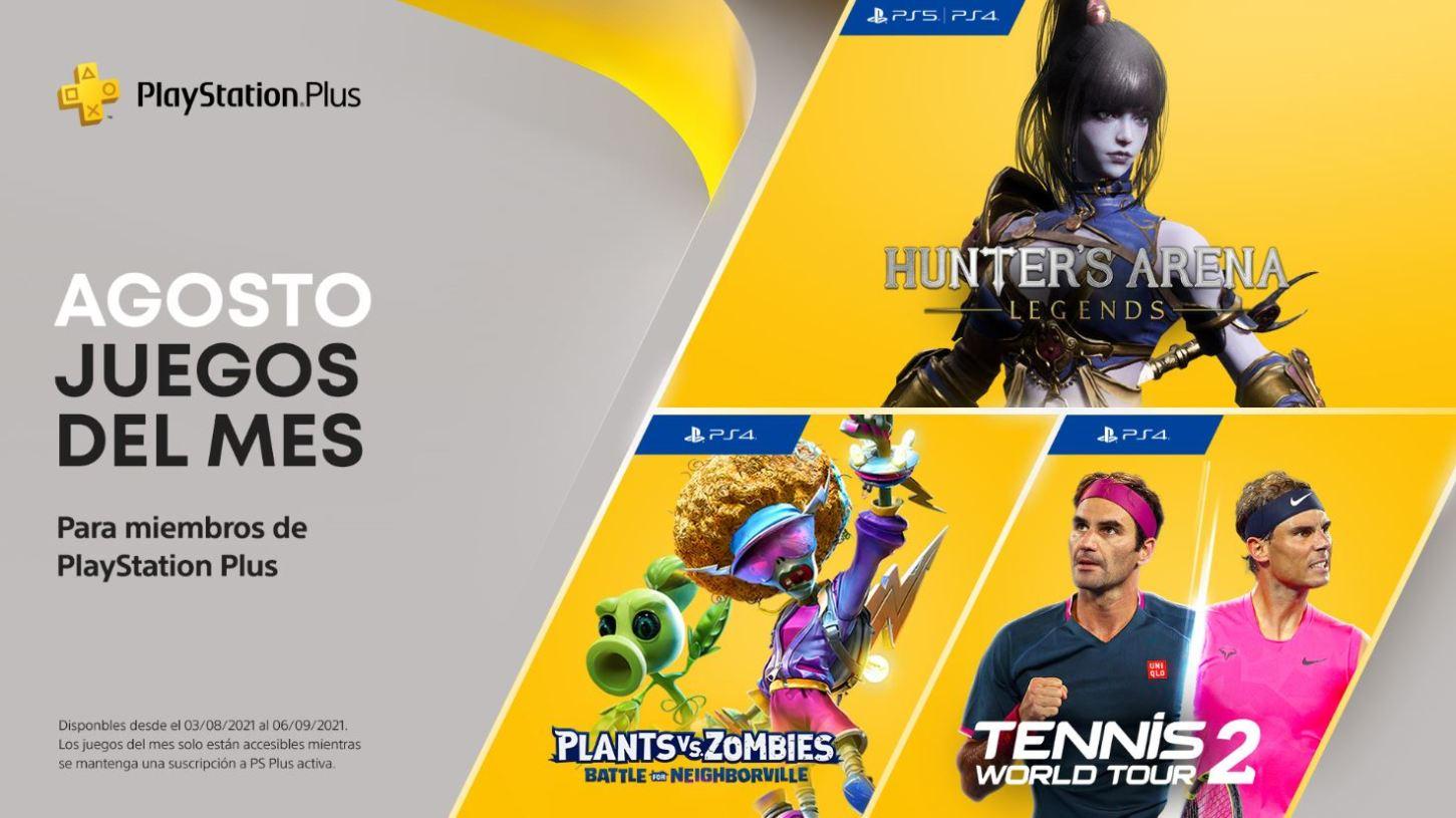 PlayStation Plus de agosto 2021
