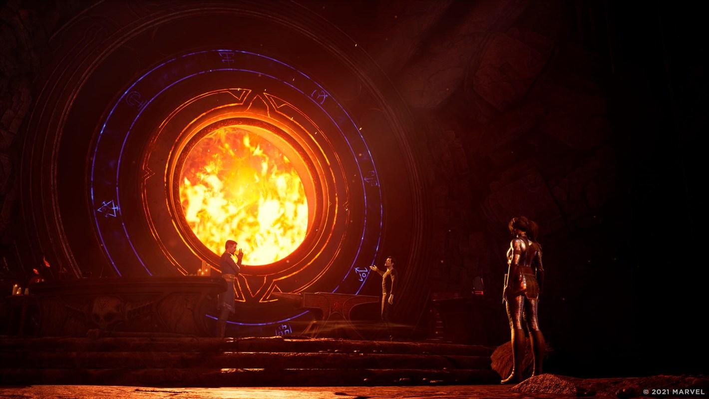 gameplay de Marvel's Midnight Suns