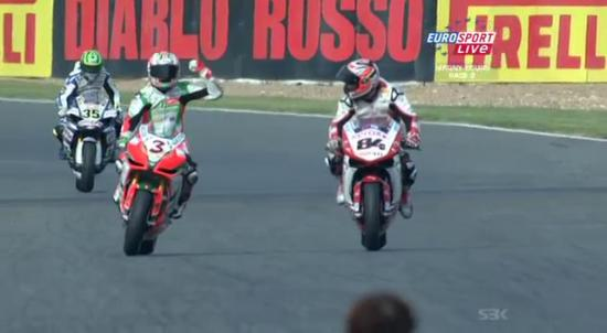 Biaggi magny Cours