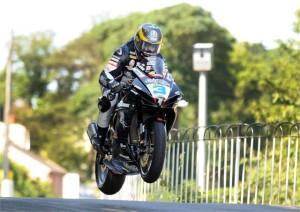 Guy Martin durante el TT 2011