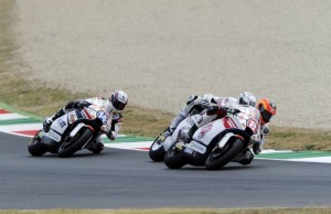 Gino Rea durante el Gran Premio de Italia