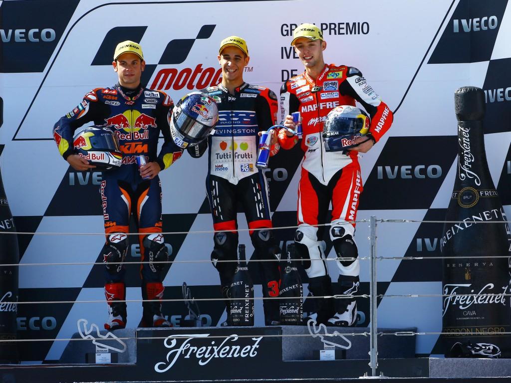 Podium-Moto3-Aragon