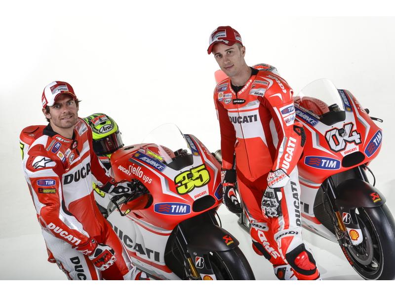 Presentación Ducati MotoGp