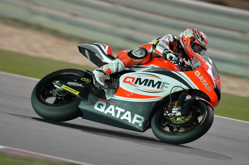 Román Ramos en el Gran Premio de Qatar