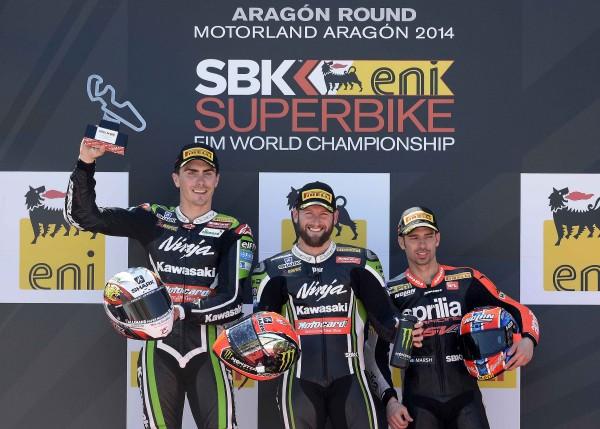 Race 2 podium