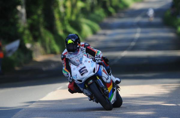 Bruce Anstey TT 2014