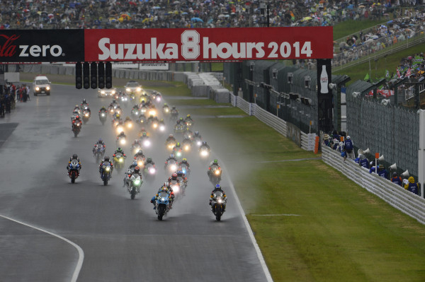 8 H DE SUZUKA 2014 RACE START