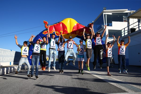 Red Bull rookies selection winners, Guadix 2014
