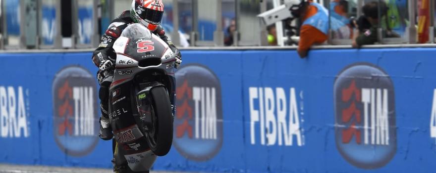 Zarco, Wins, San Marino Moto2 Race 2015