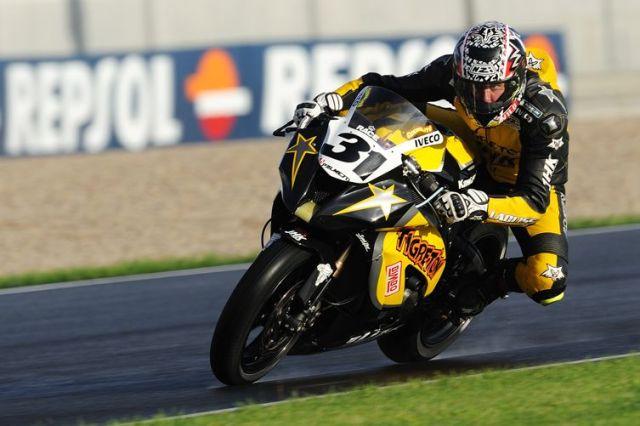 2012: Campeón CEV Stock Extreme. Team Laglisse y Kawasaki