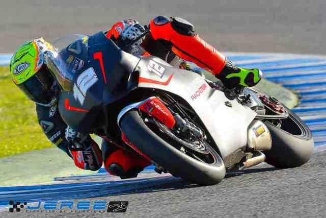 Xavi Forés Test WSBK Jerez