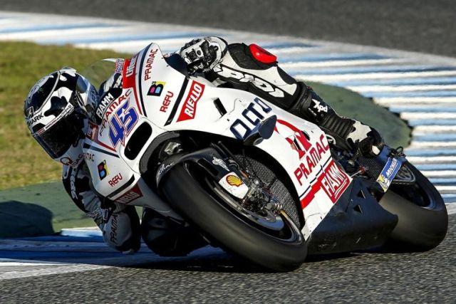 Scott Reddin Test MotoGp Jerez