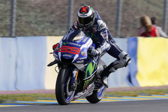 Lorenzo-LeMans-Race