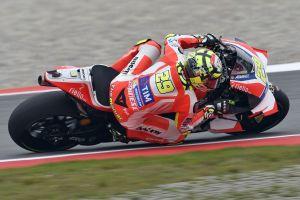 Andrea Iannone en el Circuito de Assen