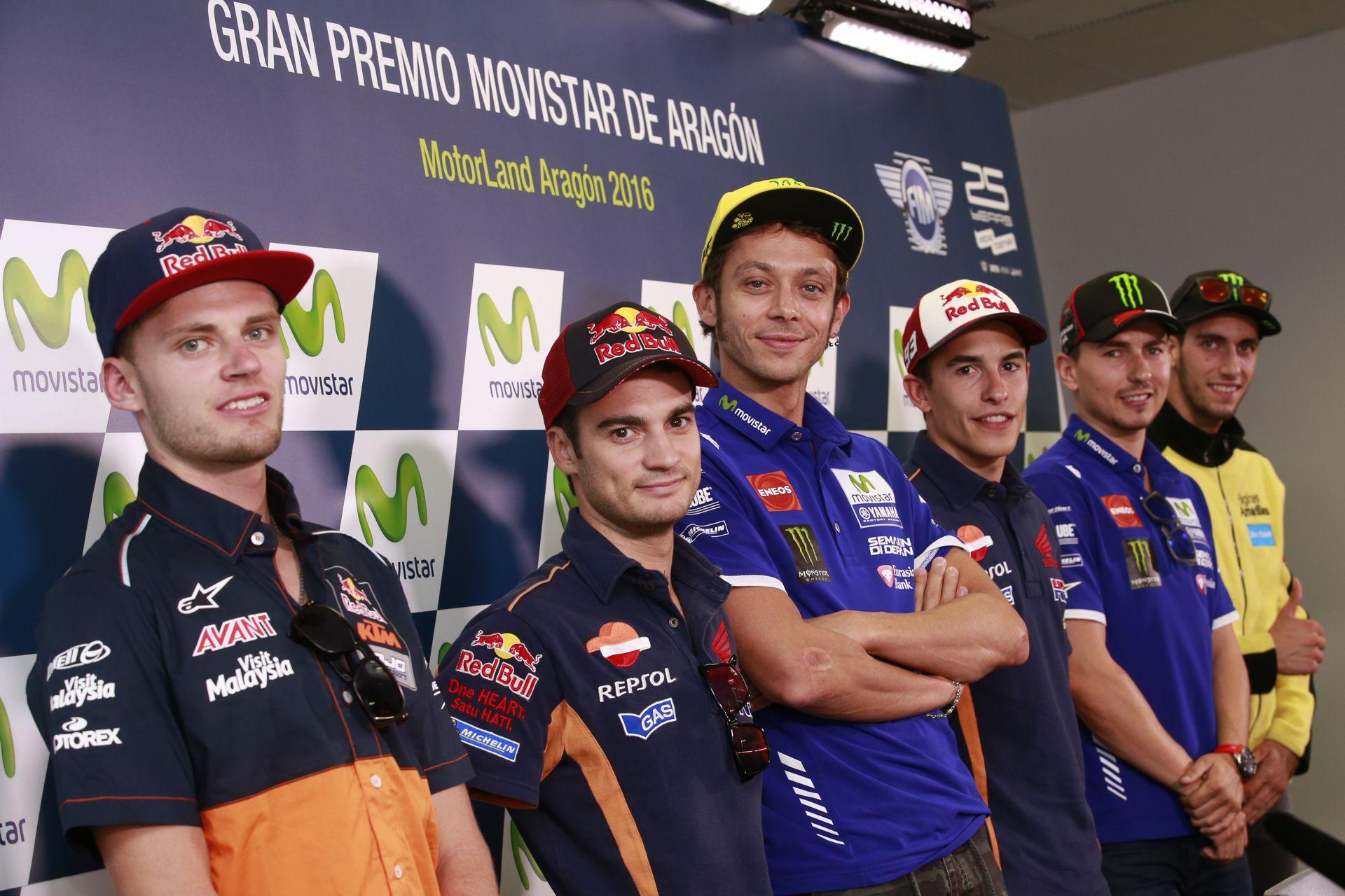 Rueda de Prensa del Gran Premio de Aragón