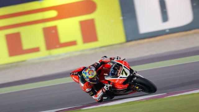 Chaz Davies WorldSBK Qatar