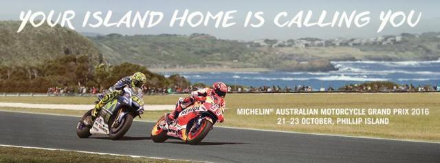 Horarios del Gran Premio de Australia de MotoGp