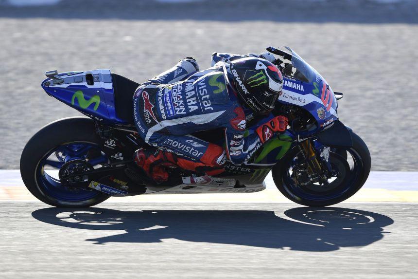 Jorge Lorenzo Pole Position Valencia MotoGp