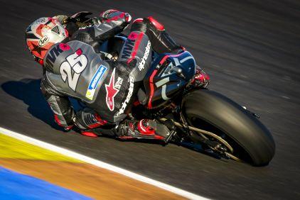Maverick Viñales Test MotoGp Valencia