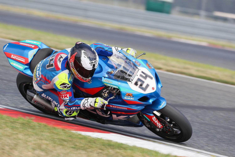 Toni Elías MotoAmerica Suzuki Yoshimura