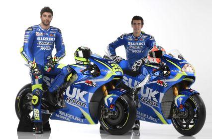 Team Suzuki MotoGP 2017 Iannone Rins GSX-RR-007