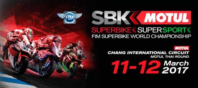 Horarios Campeonato del Mundo de Superbike Tailandia