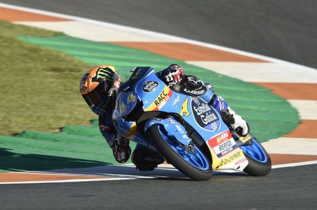 Arón Canet en el Circuit Ricardo Tormo