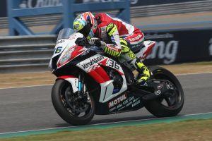 Leandro Tati Mercado durante las carreras del Mundial de Superbike en Tailandia