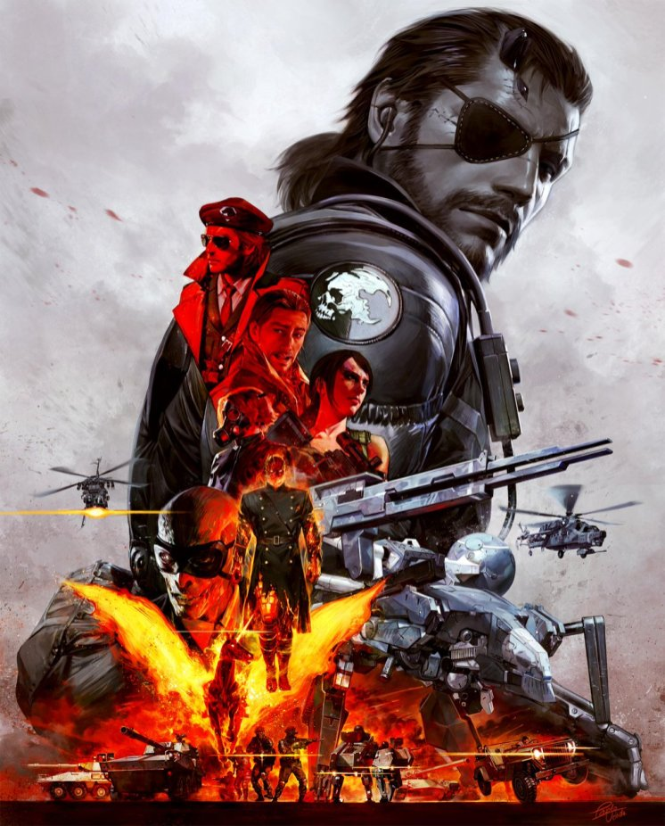 Metal Gear Solid V The Definitive Experience cover art