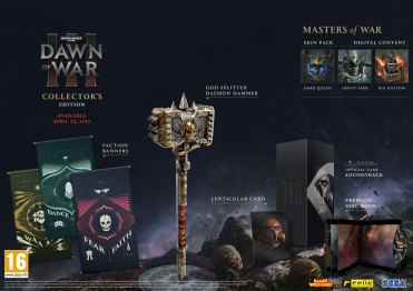 DOW3 - Collectors Edition Contents - PEGI