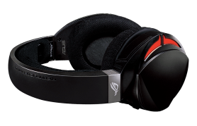 ROG STRIX Fusion 300 7.1 gaming headset_lie on table