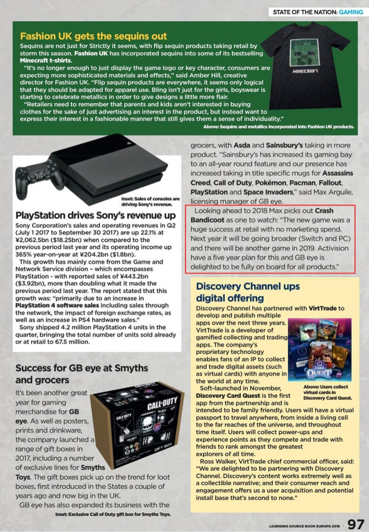 Licensing Source Book Europe - Spring 2018 - Page 97