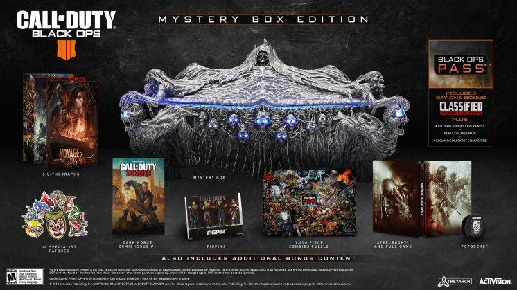 CoD Black Ops IIII Mystery Box Edition Announced