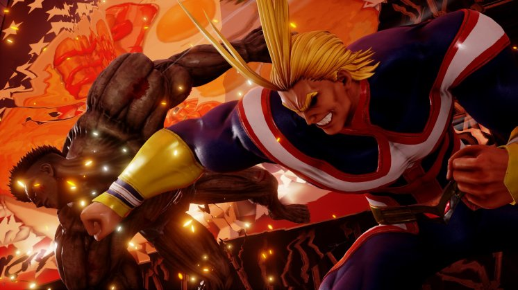 Jump Force All Might Screen 5